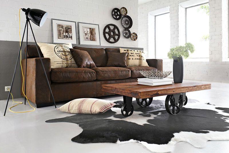 tapis de salon en peau de vache noire plus - Tapis Peau