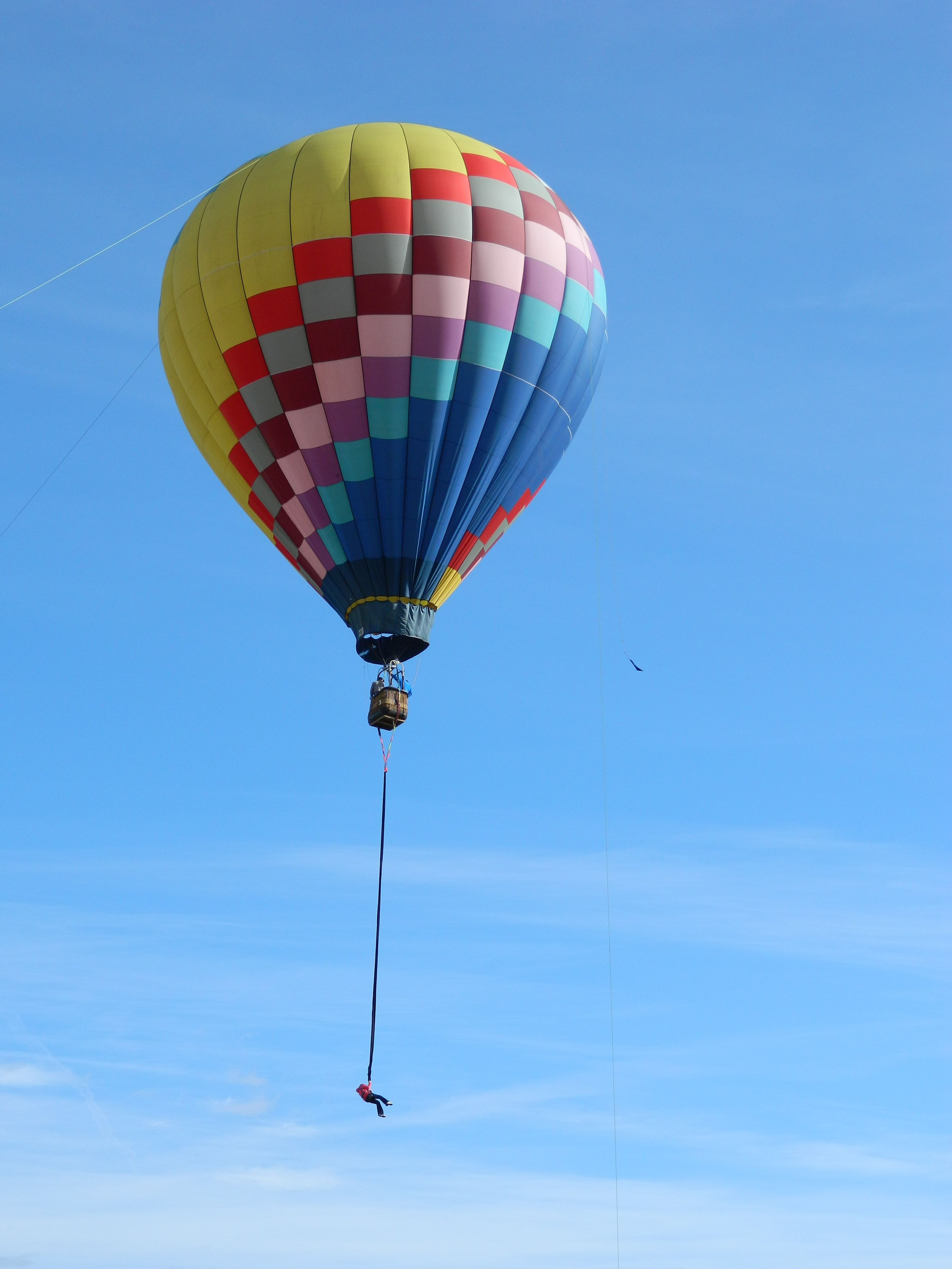 Bungee Jump out of a Hot Air Balloon Balloons, Hot air