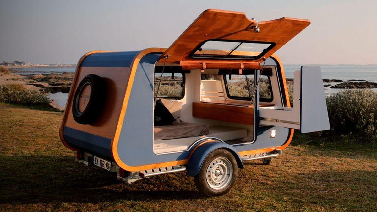 The 10 Best Camper Trailers Of 2019 Mini Caravan Teardrop