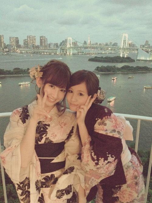 篠田 麻里子 Diary : 2012年8月12日 - 花火大会 http://blog.mariko-shinoda.net/2012/08/post-206.html