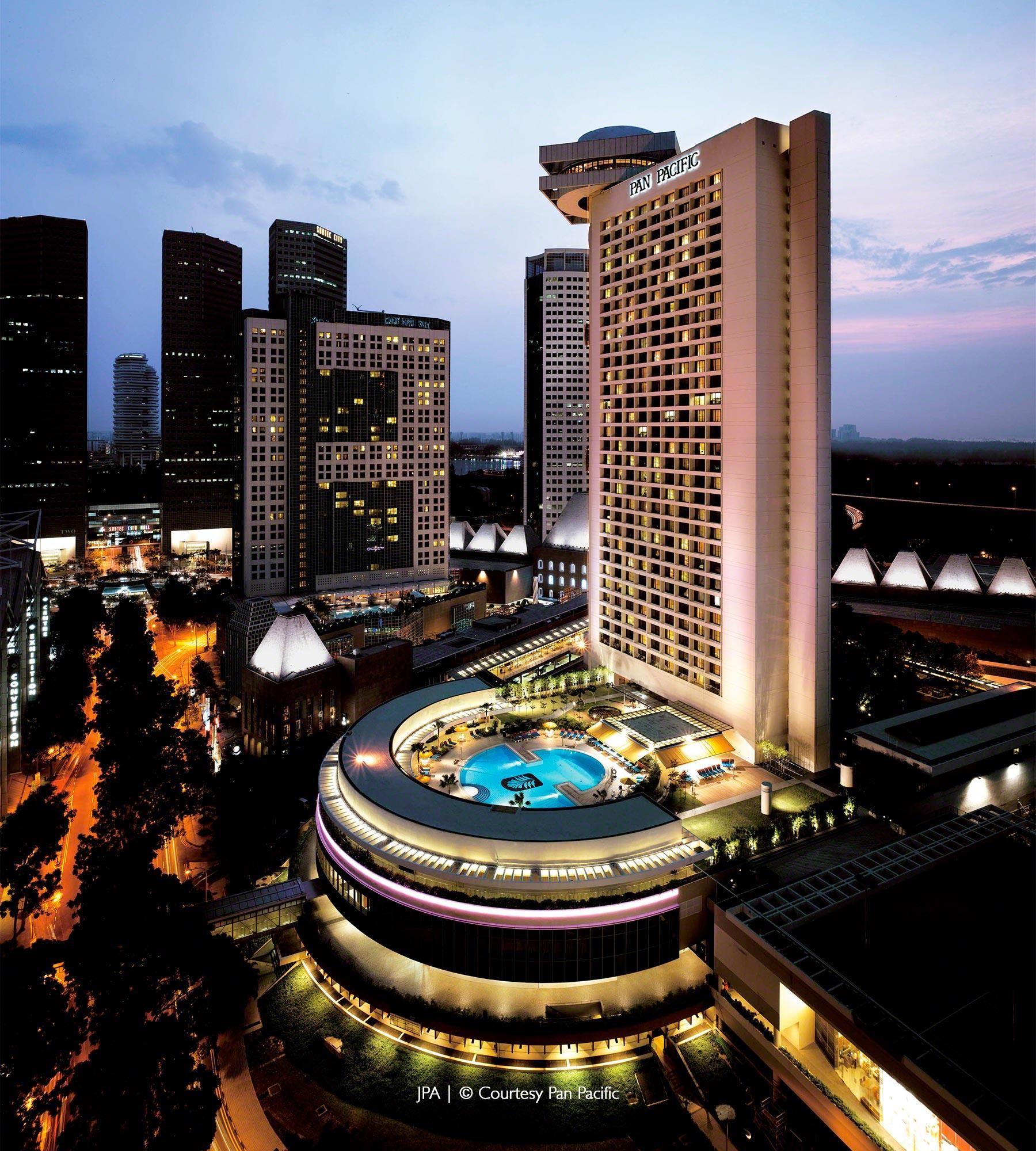 John Portman Associates Projects Singapore Hospitality Pan Pacific Hotel Project Gallery Singapore Hotels Pacific Hotel Beautiful Places To Visit
