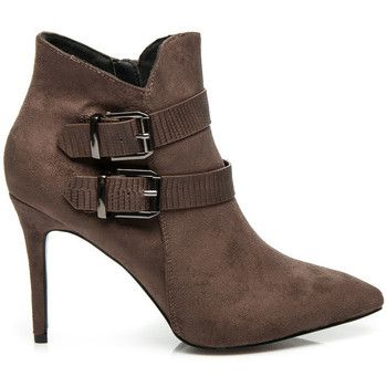 Botki Vices Jesienne Botki Na Szpilce Felicidade Ankle Boot Boots Shoes