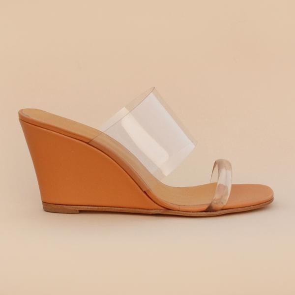 Olympia wedge sandals - Green Maryam Nassir Zadeh KzittppH04