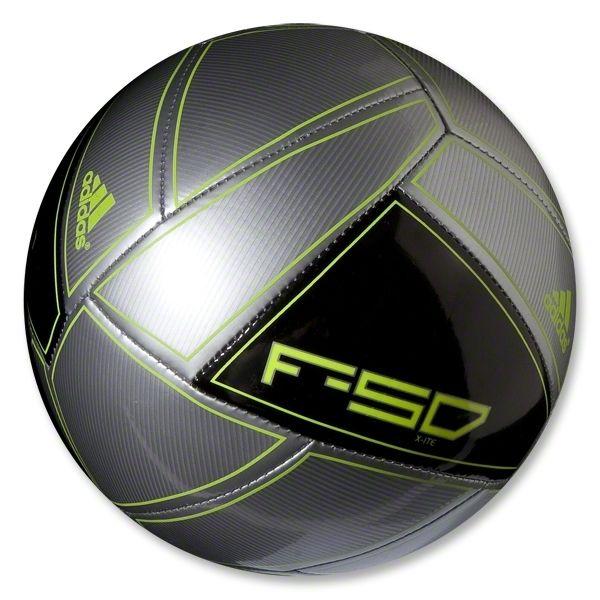 7a7b43b33 ... adidas f50 x ite 12 soccer ball (metallic silver black electricity)