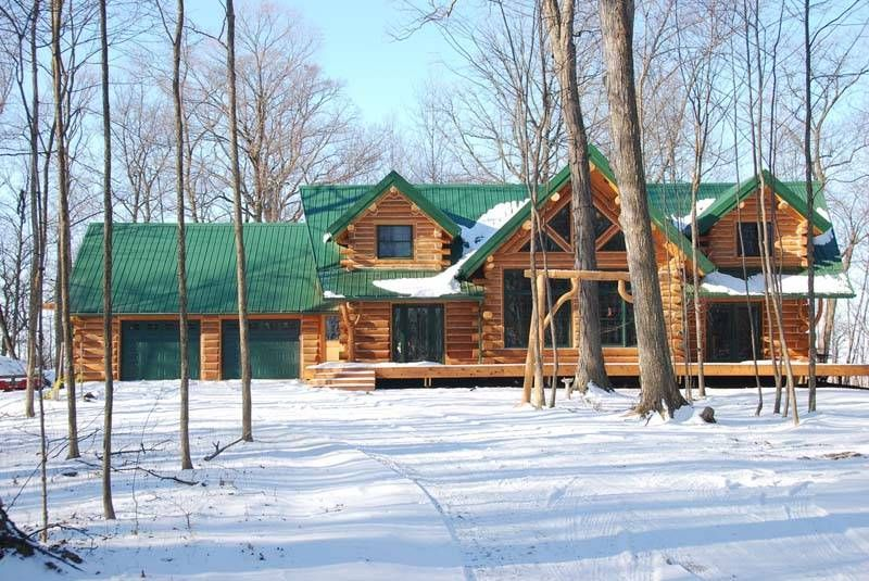 The Keplar Log Home Features Beautiful Interior And Exterior Log Homes Log Cabin Homes Cabin