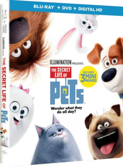 The Secret Life Of Pets Blu Ray Combo Pack Secret Life Of Pets Secret Life Pets Movie