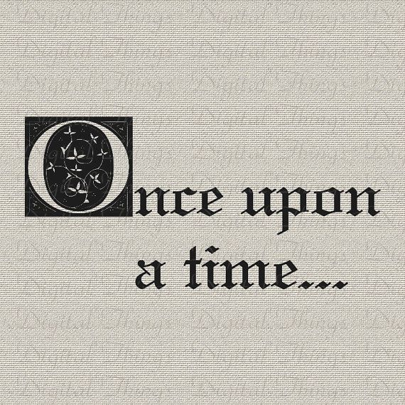 Once Upon A Time Fairy Tale Quote Printable by DigitalThings, $1.00