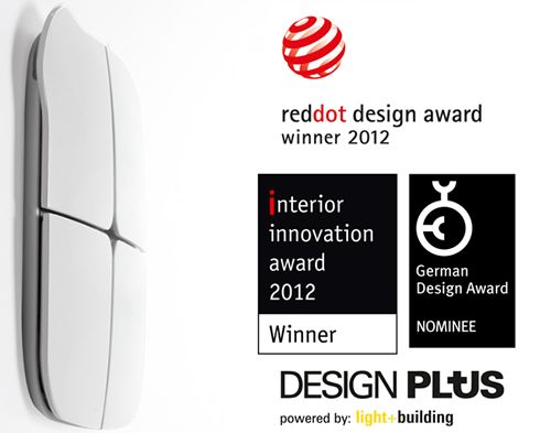 Eelecta's unique aesthetic paradigm provides pleasing interaction with the end user, and has been awarded more than five international design prizes, including the Red Dot 2012. #touchpanel