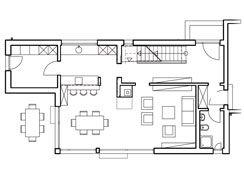 würfelhaus grundriss eg- kleine optimierung: flur und küche müssen, Innenarchitektur ideen