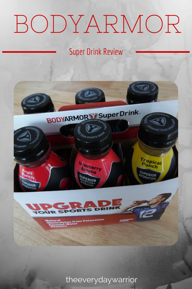 ReThink Your Sports Drink BODYARMOR Review Sports drink