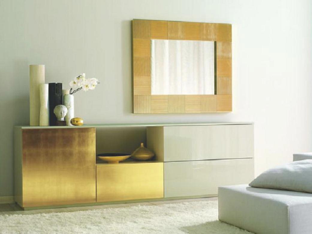 Ideas para colocar espejos decorativos - Sitúa un espejo sobre un ...