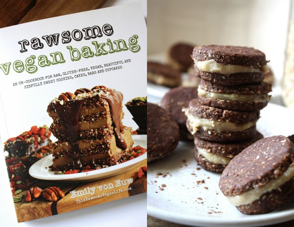 A recipe for raw gf oreos and a chance to win the new rawsome a for raw gf oreos and a chance to win the new rawsome vegan baking cookbook heck yes just enter our giveaway by clicking on the photo forumfinder Choice Image