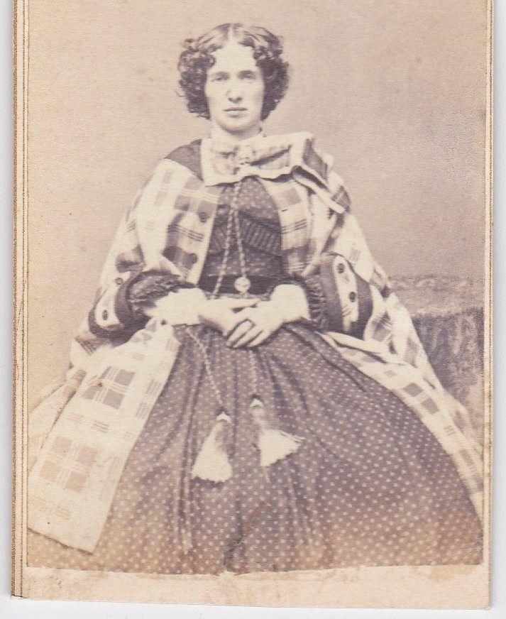 Lovely Cape And Short Hair Victorian Women Short Hair Styles Civil War Dress