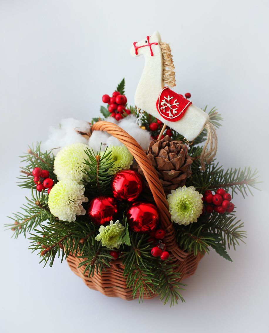 Christmas composition Christmas composition