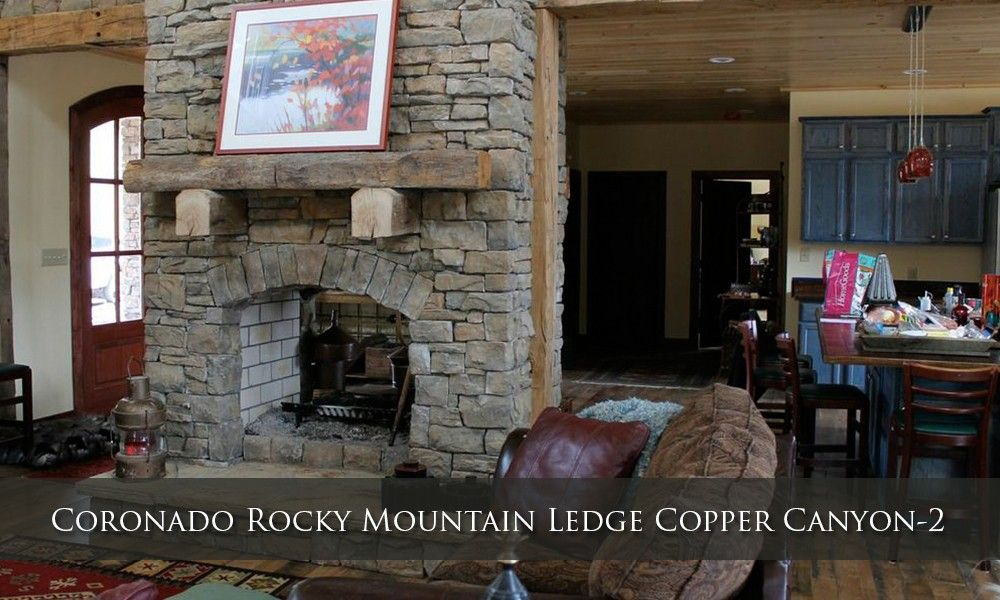 Coronado Rocky Mountain Ledge Copper Canyon 2 Masonry Contractor
