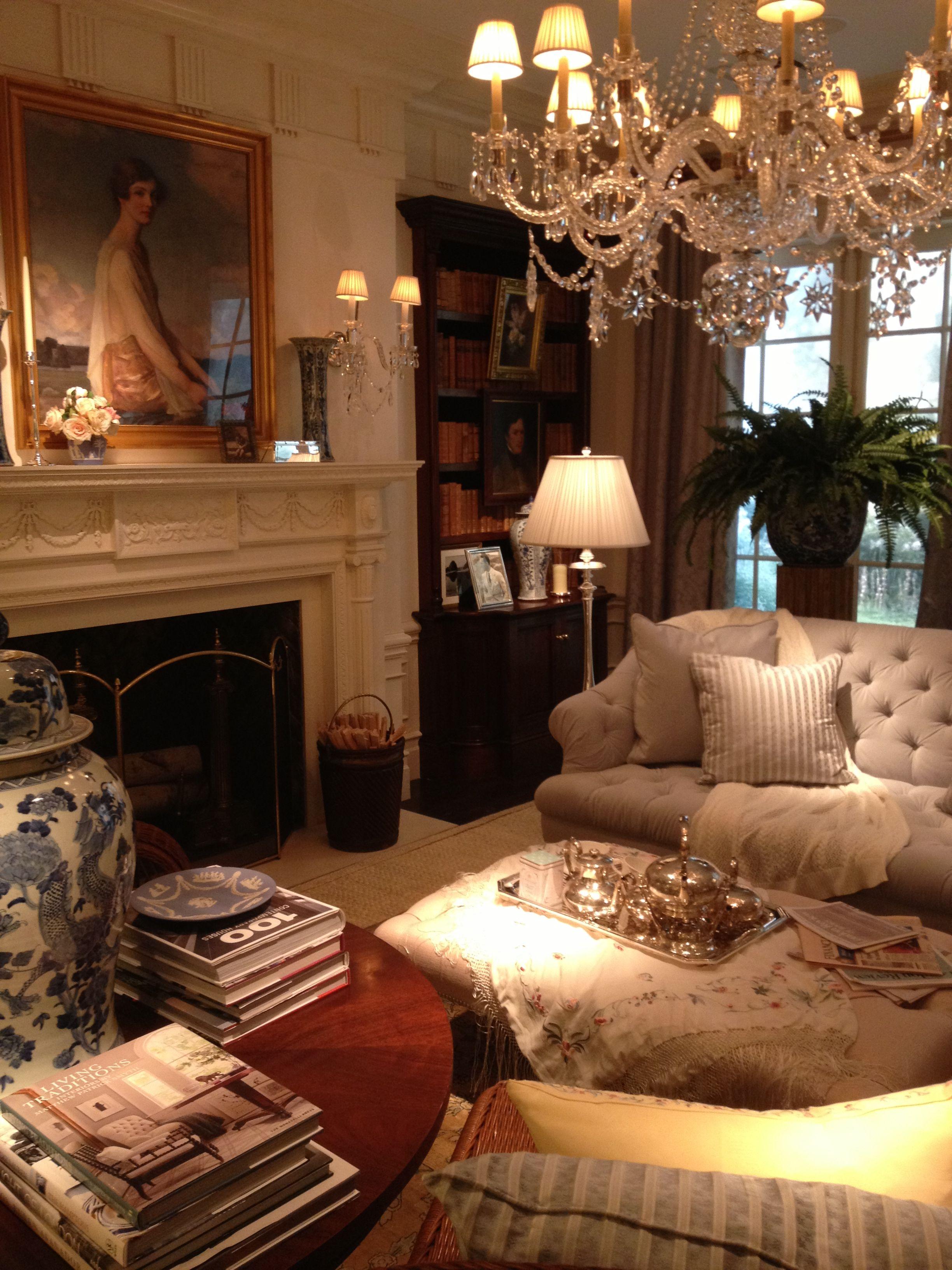 Ralph Lauren Living Rooms Pinterest