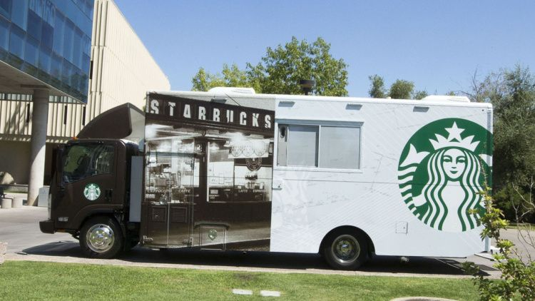 Starbucks To Trawl For College Students With Food Trucks