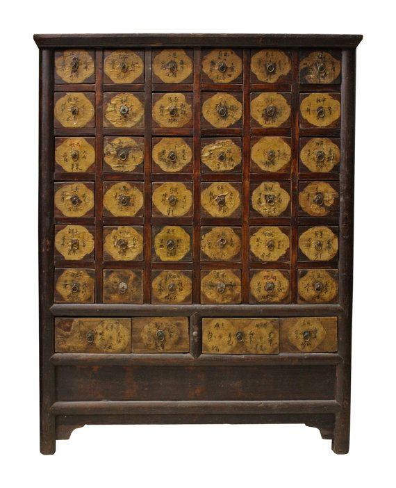 Chinese Antique Apothecary Chest Chinese Antiques Antique