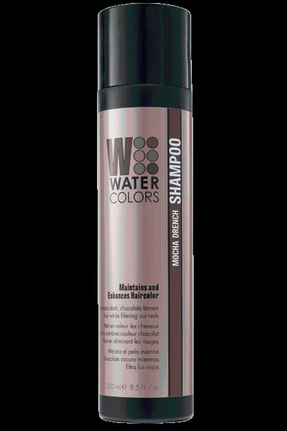 Tressa Water Colors Mocha Drench Color Maintenance Shampoo 8 5 Oz