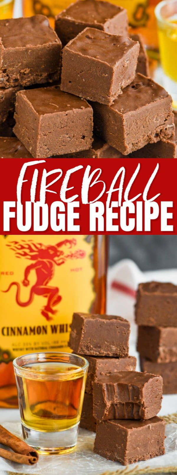This Easy Fireball Fudge Recipe Is The Perfect Recipe To Make For The Holidays Or Anytime An Easy Fudge Recipe Ma Fudge Recipes Fudge Recipes Easy Fudge Easy