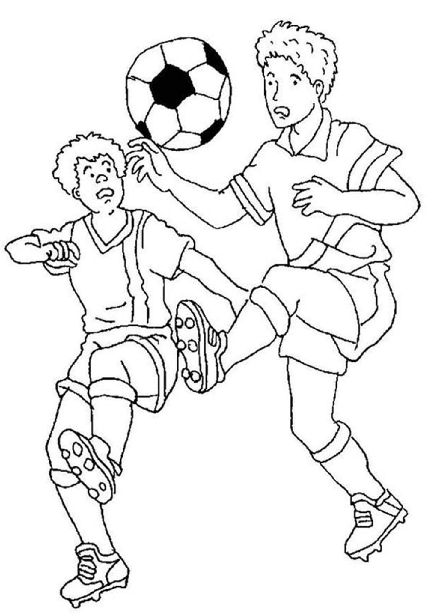 Free Easy To Print Soccer Coloring Pages In 2021 Sports Coloring Pages Football Coloring Pages Cartoon Coloring Pages