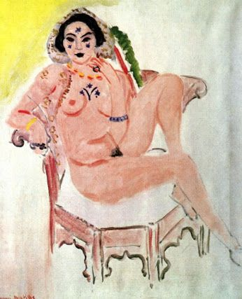Matisse - Young Woman in Oriental Rouge