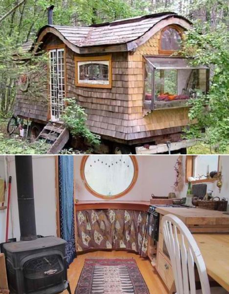 Incredible 17 Best Images About Tiny House On Pinterest Micro House Largest Home Design Picture Inspirations Pitcheantrous