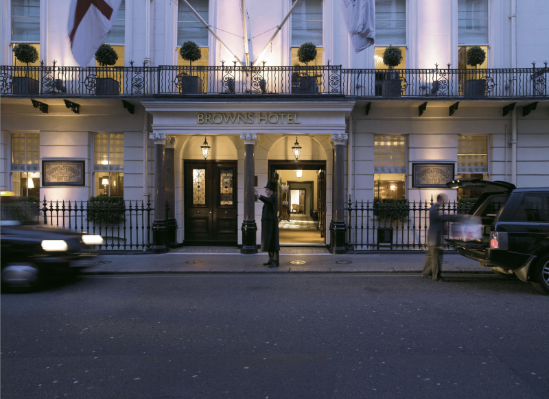 Brown S Hotel Londres Contemporary Artworkluxury Hotels London5 Star