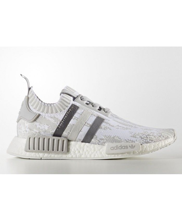 adidas nmd r1 primeknit glitch camo sort grey
