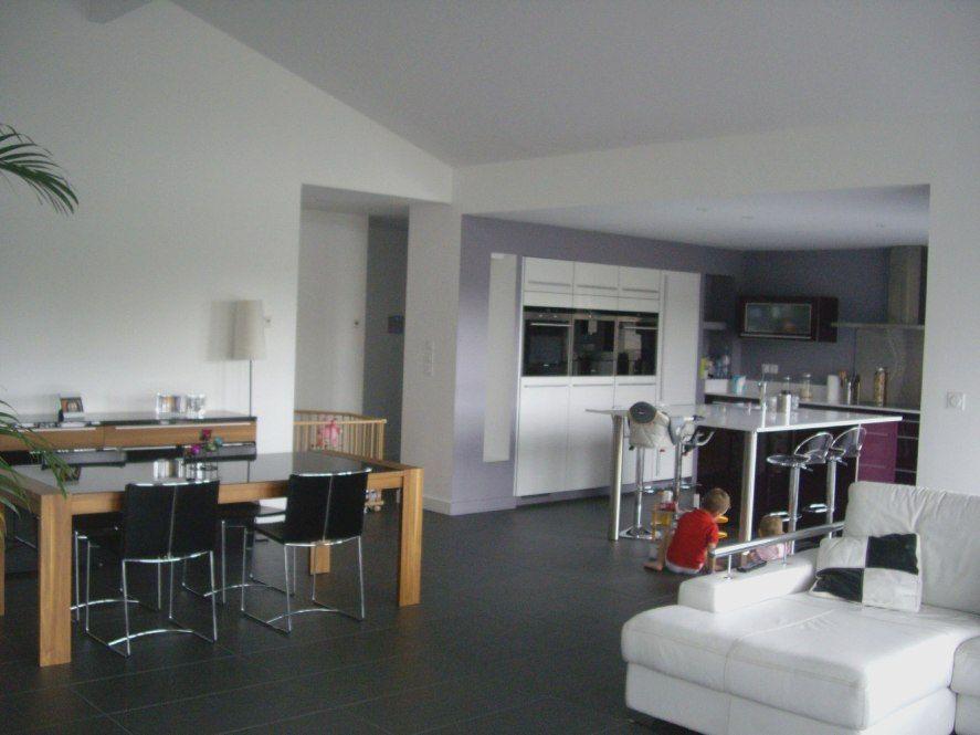 Salon Avec Carrelage Noir | salle de bain | Kitchen design ...
