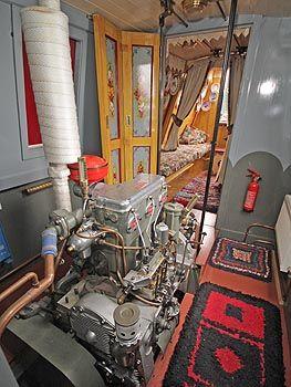 Engine Room also   Gardner 3LW diesel