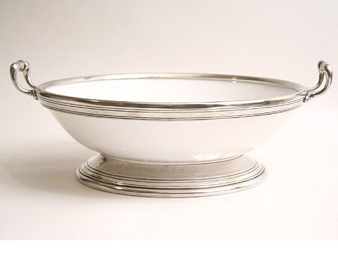 Arte Italica Tuscan Large Footed Bowl With Handles Arte I