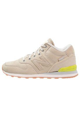 New Balance Women's Shoes WH996BIN - Trainers - beige