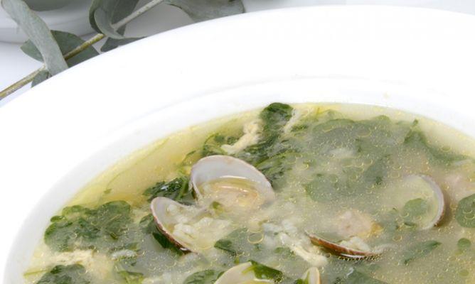 Receta De Sopa De Berros Con Almejas Karlos Arguiñano Receta Recetas De Sopa Berros Comida étnica