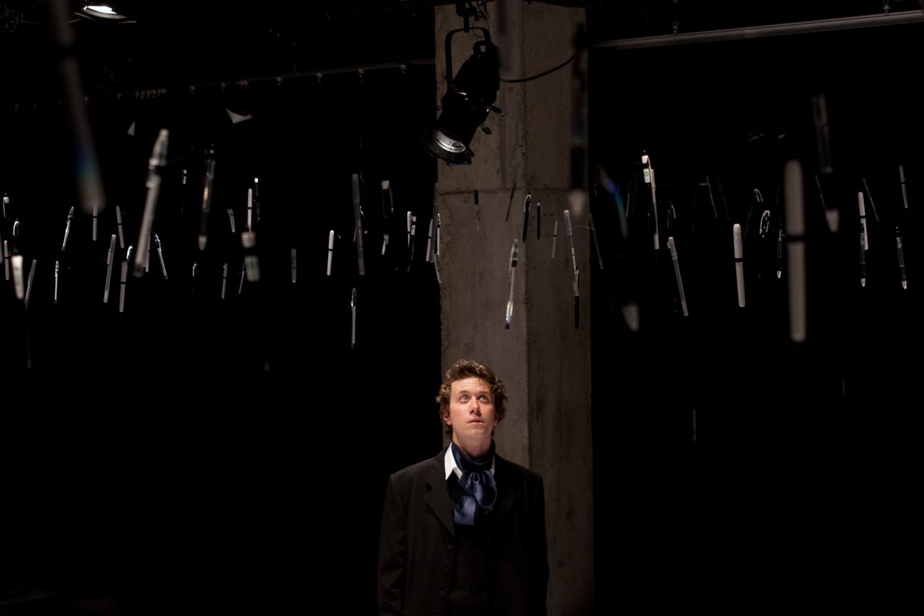 Mickey Barringer in Pen Knife written by Christopher Richards, directed by Javierantonio González