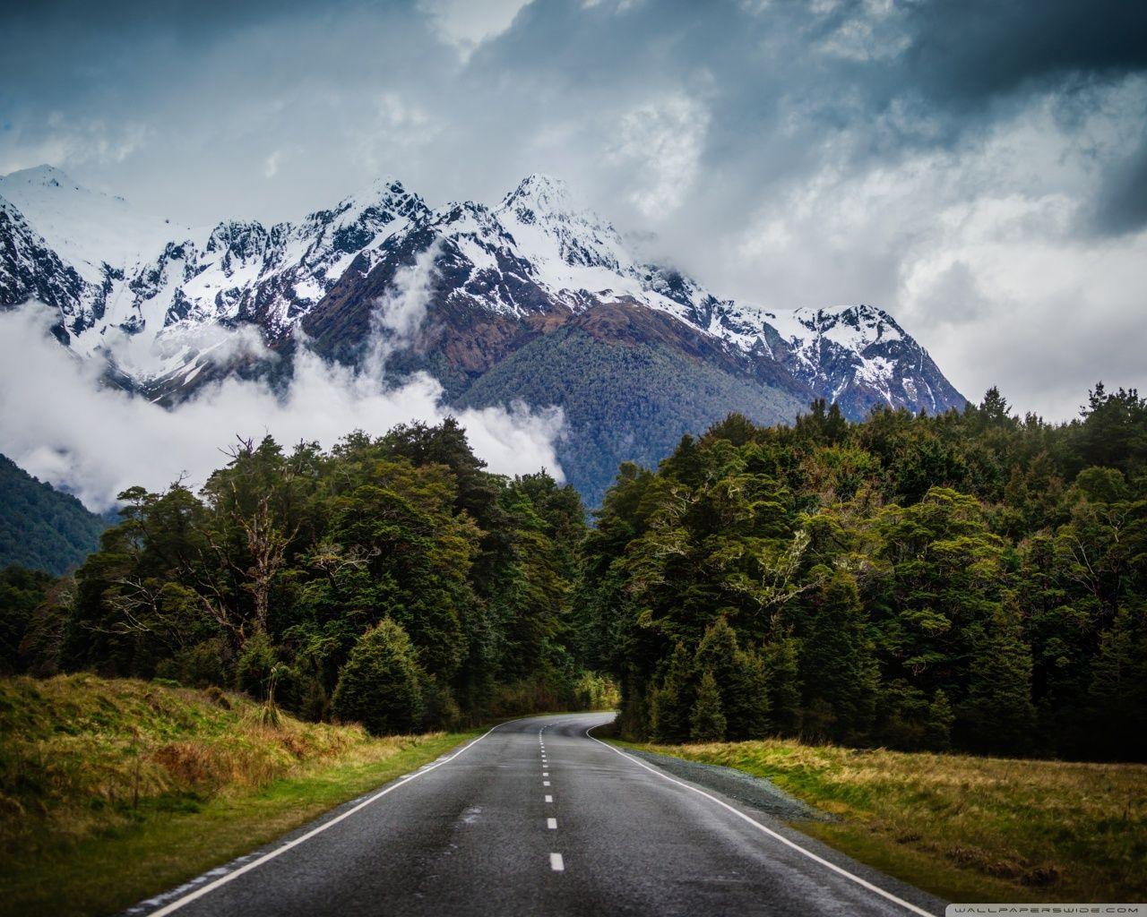 Mountain Free Wallpaper Hub The Mountain Road Wallpaper