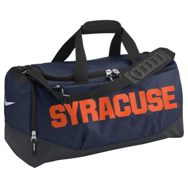 Syracuse Orange Nike Medium Training Duffle Bag – Navy Blue ... 286fbaa214514