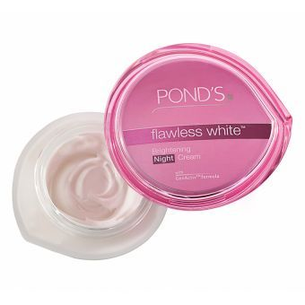 Ponds Flawless White Re-brightening Night Treatment 50g