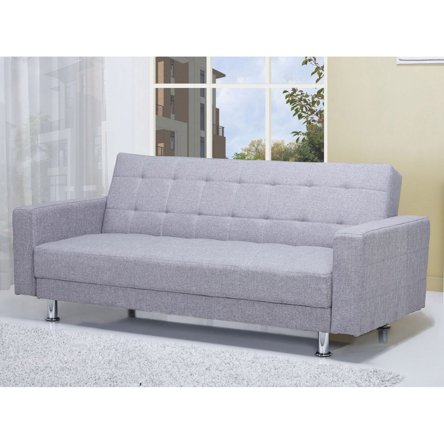 Gold Sparrow Frankfort Convertible Loveseat Adc Fra Lov
