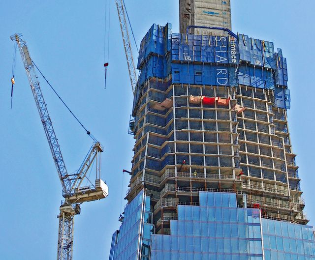 London Skyscrapers Under Construction  #architecture #Piano #Renzo Pinned by www.modlar.com