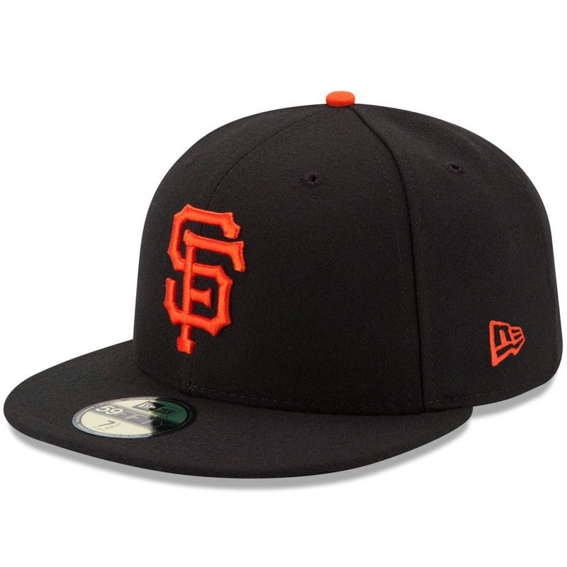 San Francisco Giants New Era Game Authentic Collection On-Field 59FIFTY  Fitted Hat - Black
