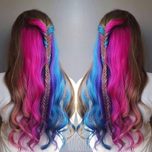 20 blaue und lila Haar-Ideen #blaue #ideen FOTO