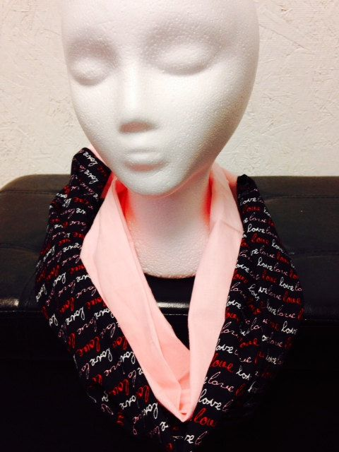 Love Infinity Scarf by TheMindfulMommy on Etsy
