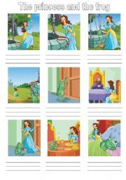 English Worksheet The Frog Prince Story Masallar 1 Pinterest Prince Stories Worksheets