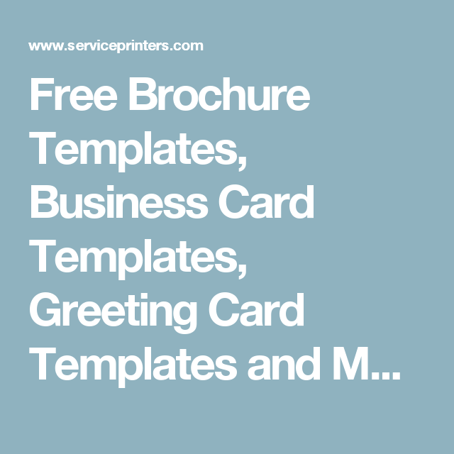 Free brochure templates business card templates greeting card free brochure templates business card templates greeting card templates and more reheart Choice Image