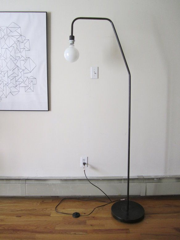 Arc floor lamp mid century modern industrial in riverdale bronx ny usa
