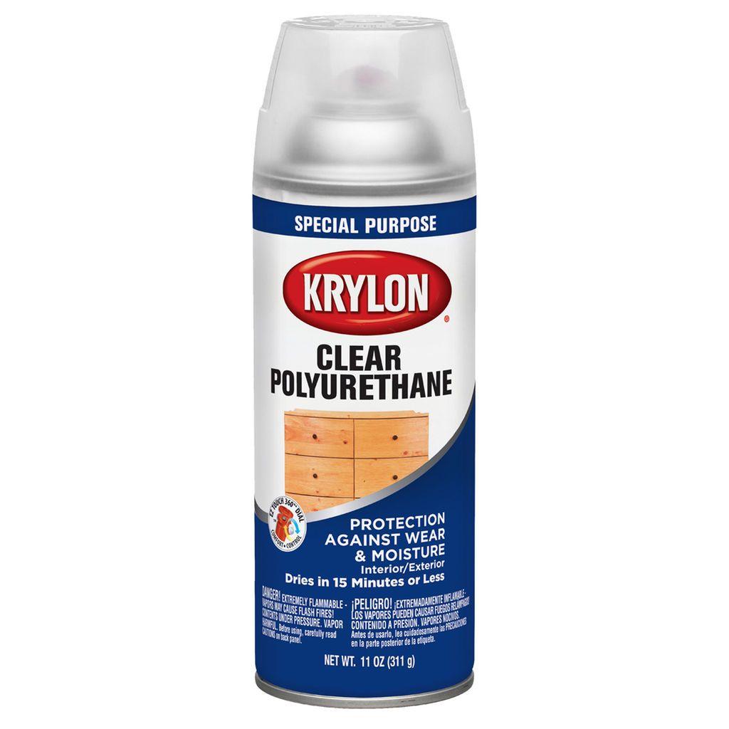 Spray Paints Krylon Spray Paints Polyurethane Over Paint