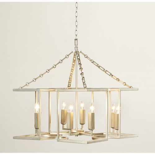 Found it at Wayfair - Dawson 8 Light Candle-Style Chandelier