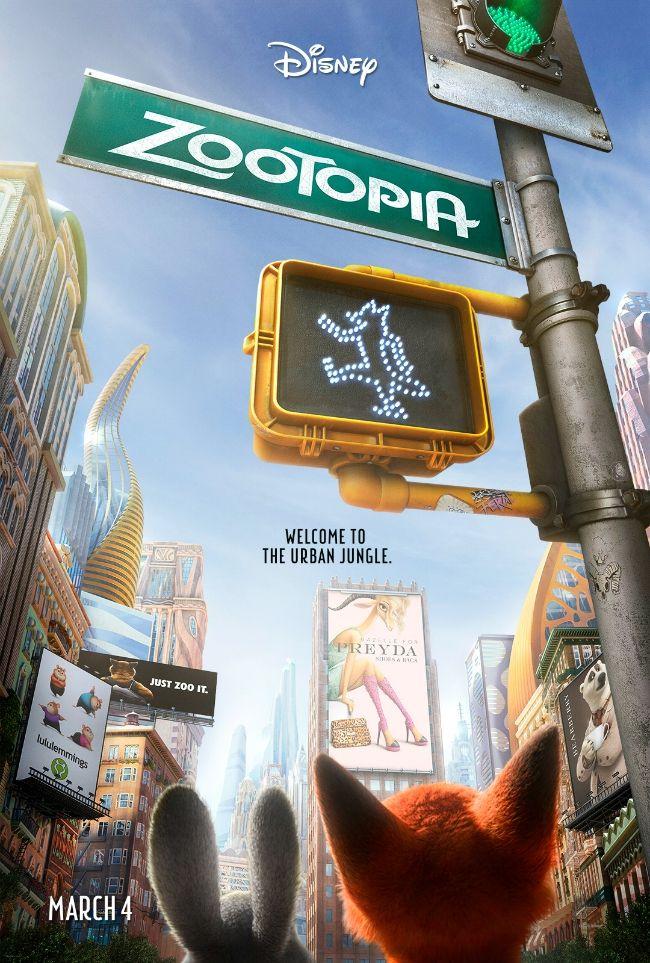 ZOOTOPIA New Film Poster ~ #Zootopia - Pink Ninja Blogger
