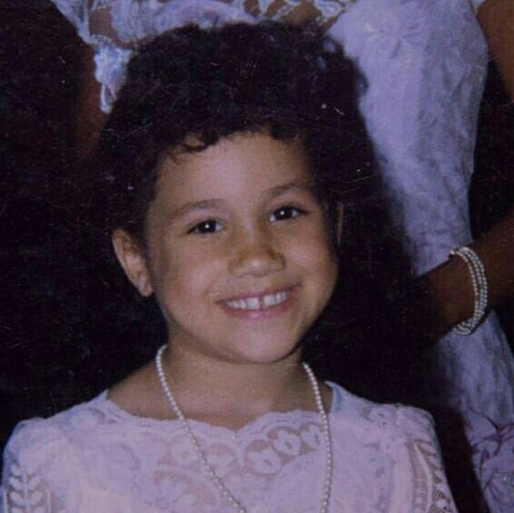 Meghan Markle As A Kid
